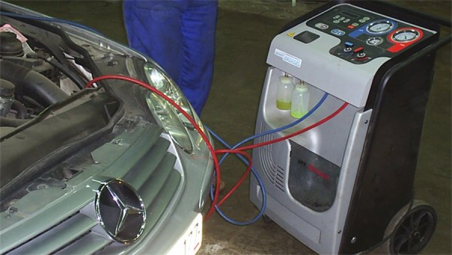 Ремонт и заправка кондиционеров в авто